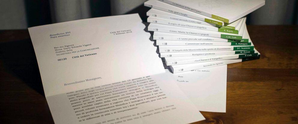 lettre de demission du pape benoit xvi Le Vatican admet avoir manipulé la lettre de Benoît XVI en faveur  lettre de demission du pape benoit xvi