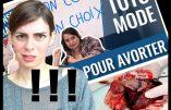 Virginie Vota examine la promotion de l'avortement faite sur le site MadmoiZelle.com