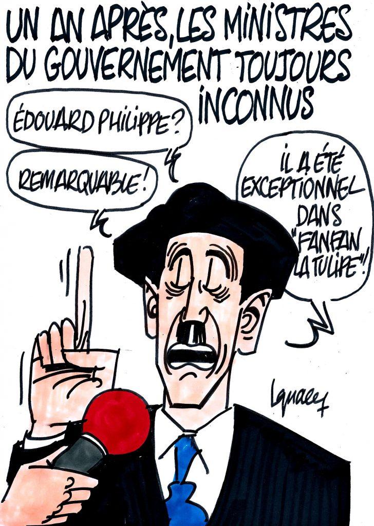 Ignace - Les ministres du gouvernement toujours inconnus des Français