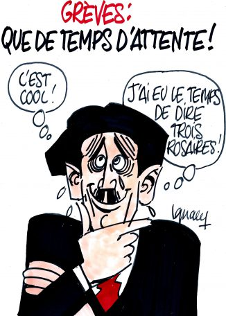Ignace - Grèves, que de temps d'attente !