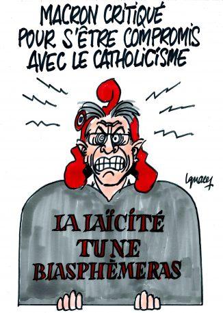 Ignace - Macron vu par les laïcistes