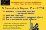 15 avril 2018 : Pèlerinage en hommage aux Martyrs des Lucs, victimes des colonnes infernales de la république