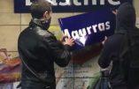 Métro Bastille ? Non, métro Charles Maurras !