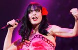 La chanteuse Lio fête les dix ans des Femen