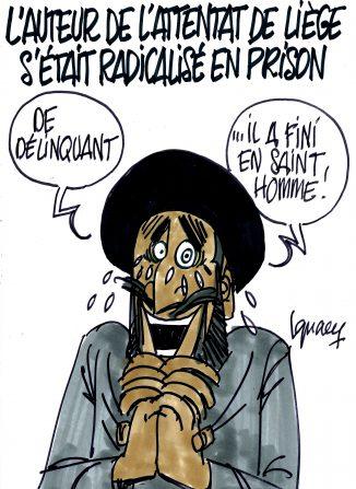 Ignace - L'auteur de l'attentat de Liège s'était radicalisé en prison