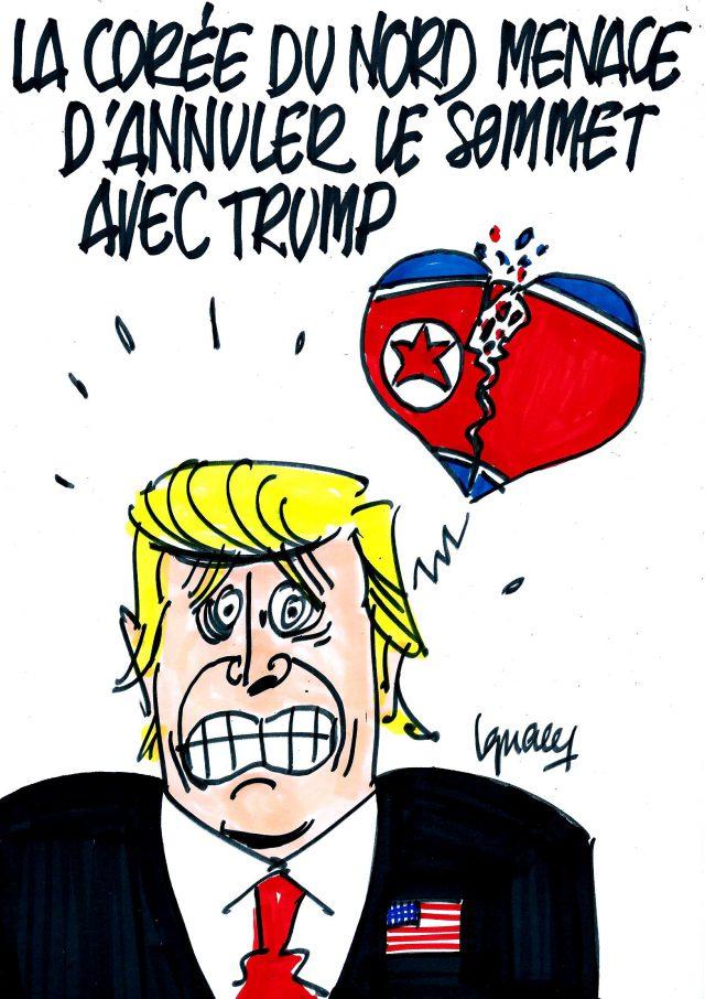 Ignace - Kim Jong-Un peut priver Trump de sommet