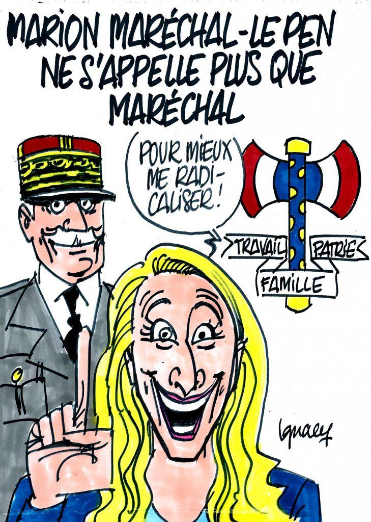 Ignace - Marion Maréchal ne s'appelle plus Le Pen
