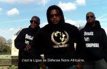 «Moi j'préfère le Coran, nique le Pape et l'Eglise» éructe le leader de la Ligue de Défense Noire Africaine