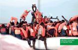 La publicité Benetton avec les migrants de l'Aquarius