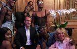 Fête afro-techno-LGBT à l'Elysée ! Consternante décadence…