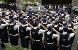 Belgique – Mobilisation policière massive pour honorer leurs deux collègues victimes d'un islamiste