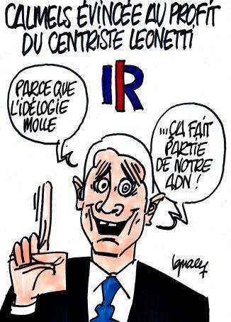 Ignace - Calmels évincée au profit du centriste Leonetti