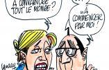 Ignace - Hollande défend son bilan