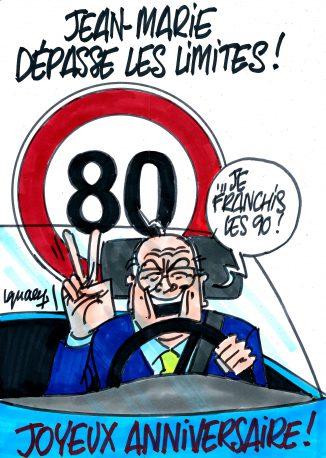 Ignace - Jean-Marie dépasse les limites