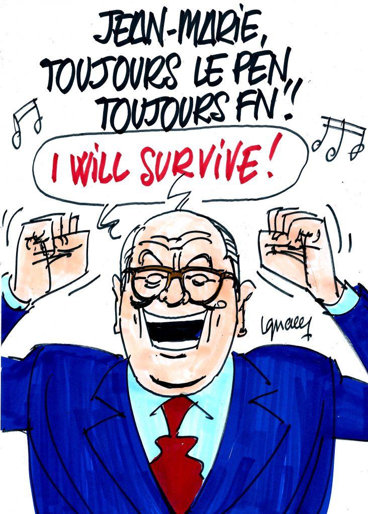 Ignace - Jean-Marie, toujours Le Pen, toujours FN !