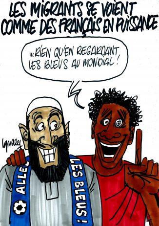 Ignace - Les migrants se voient comme des Français en puissance