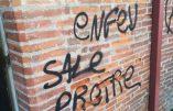 Toulouse – Vandalisme LGBT contre la chapelle Saint-Roch-du-Férétra