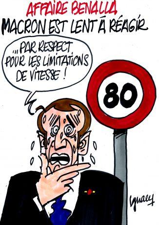Ignace - Macron lent à réagir