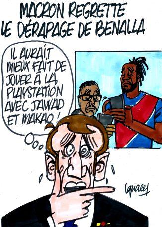 Ignace - Macron regrette le dérapage de Benalla