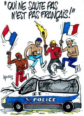 """Ignace - """"Qui ne saute pas n'est pas français !"""""""