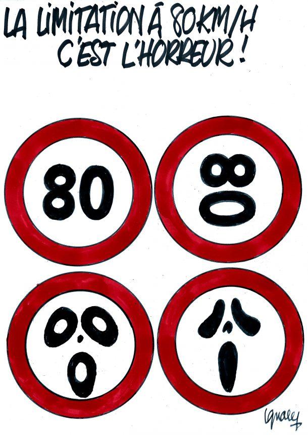 Ignace - La limitation à 80 km/h, c'est l'horreur !