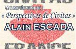 Retrouvez Alain Escada à l'université d'été de Civitas