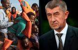 Le Premier ministre tchèque ne veut pas d'immigration africaine