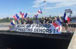 Le slogan «Français d'abord, clandestins dehors» vaut à une élue d'être convoquée par la police