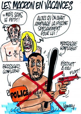 Ignace - Les Macron en vacances