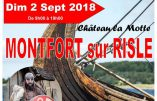 2 septembre 2018 – Médiévales de Montfort-sur-Risle