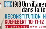 Du 10 au 12 août 2018 – Reconstitution «Eté 1918 – Un village normand dans la tourmente»