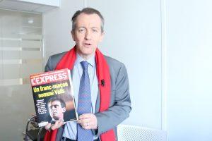 Le chroniqueur politique Christophe Barbier fera l'acteur pour les francs-maçons du Grand Orient