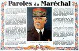 Images d'archives – Paroles du Maréchal Pétain