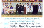 30 septembre 2018 – Pèlerinage aux prêtres martyrs de l'Ile Madame