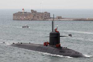 Un monde de SNLE (sous-marins nucléaires lanceurs d'engins)