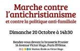 La marche du 20 octobre contre l'antichristianisme en direct