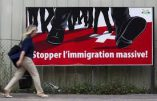 "L'UDC lance la campagne ""Stopper l'immigration massive !"""