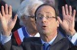 """Personnalités """"les plus détestées"""" – Hollande 4ème du classement."""