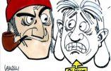 Dessin du jour: Les bretons et Mélenchon !