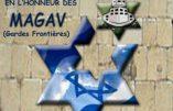 Gala et récolte de fonds à Paris pour les Magav de l'armée israélienne