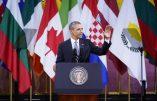 En visite à Bruxelles, Obama tente de montrer sa force face à Poutine