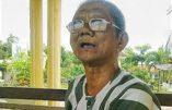 Après 39 ans dans des camps au Vietnam, Nguyen Huu Cau, enfin libre, parle de la foi qui l'a sauvé