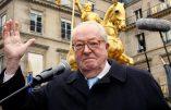 Jean-Marie Le Pen n'est toujours pas Charlie et se moque des Charlots