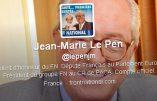 Jean-Marie Le Pen a confié son site et son compte twitter à un militant juif