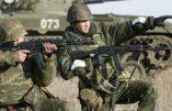 Grandes manœuvres des parachutistes russes