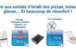 Offrir des pizzas aux soldats israéliens à Gaza et payer moins d'impôts en France…