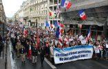 Images d'ambiance de la manifestation de soutien aux chrétiens d'Orient