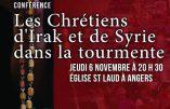 SOS Chrétiens d'Orient à Angers