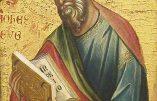 27 décembre : Saint Jean – Apôtre et Evangéliste