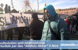 "Nice : manifestation au cri de ""Allah Akbar !"""